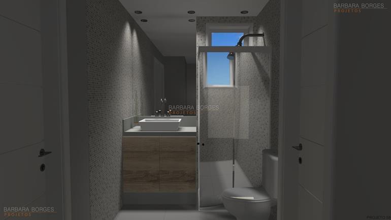 armários embutidos decoração banheiro