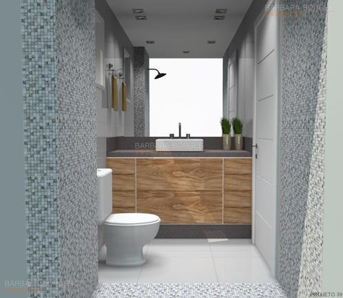 azulejos para banheiros decoração banheiro