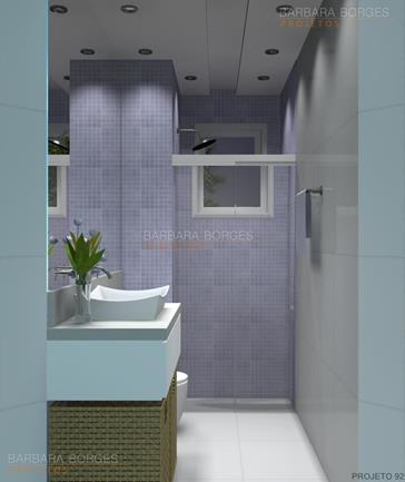decoração banheiros pastilhas