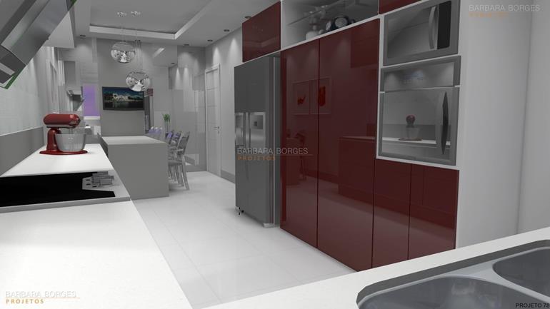 cozinha com area de serviço decoração cozinhas