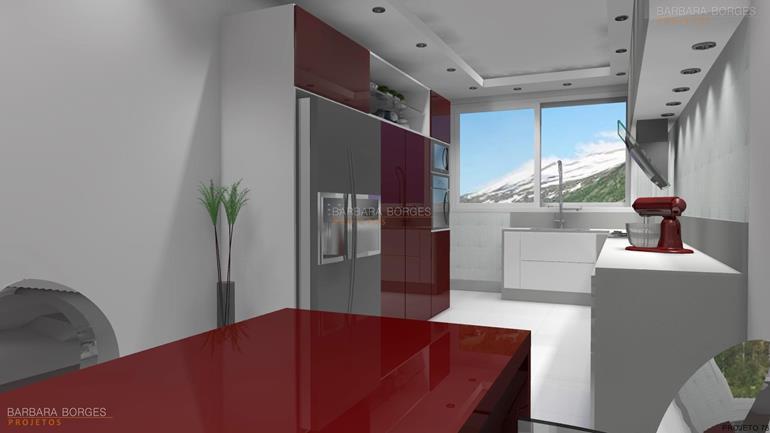 cozinha e sala decoração cozinhas pequenas