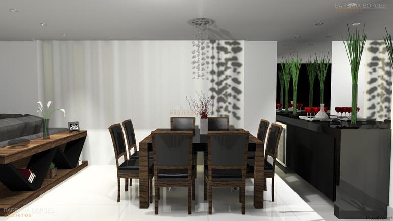 cozinha americanas decoração interiores