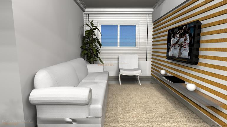 cozinha com area de serviço decoração moderna