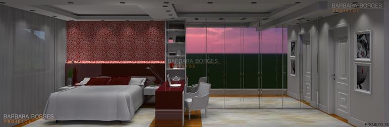decoração de casas modernas decoraçao quartos