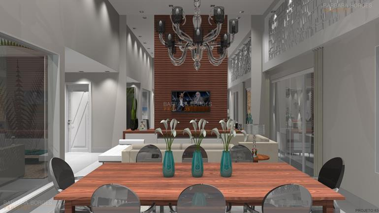 decoração de varanda gourmet decoração sala jantar