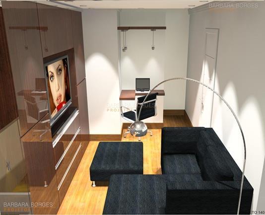 design de interiores rj decoração salas pequenas