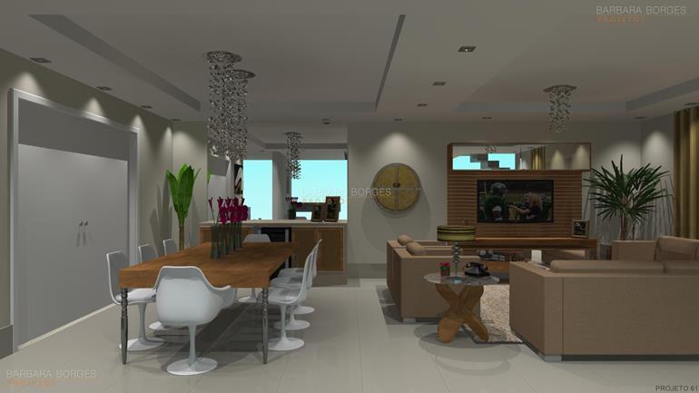 dicas decoração sala decorar casa praticidade projeto 3D