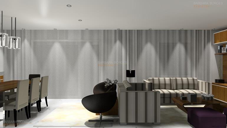 imagem de cozinha americana design interiores