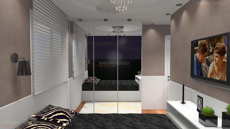 modelo de quarto de menina dormitorio casal
