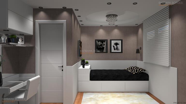 modelos banheiro dormitorio solteiro