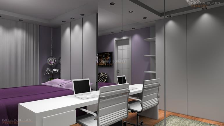 modelos de apartamentos dormitorios planejados
