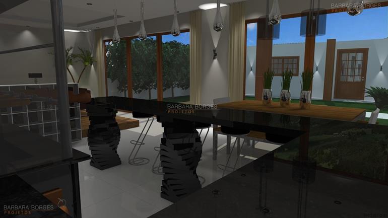 mesas de sala de jantar ediculas modernas