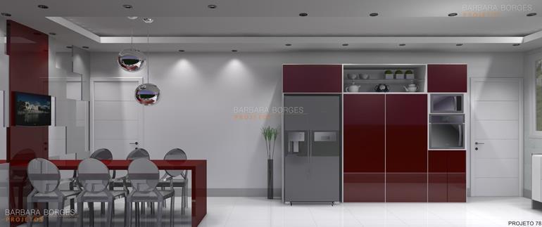 moveis planejados apartamento pequeno enfeites cozinha