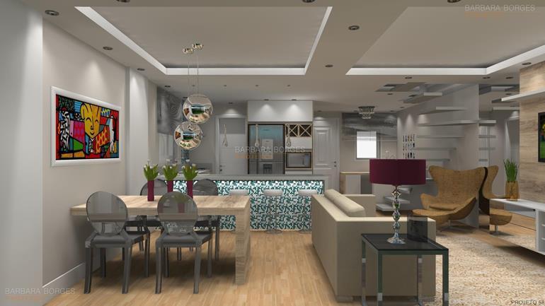 modelos de apartamentos escritório projetos