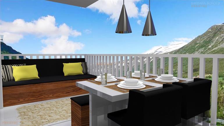 moveis planejados apartamento pequeno espaço gourmet churrasqueira