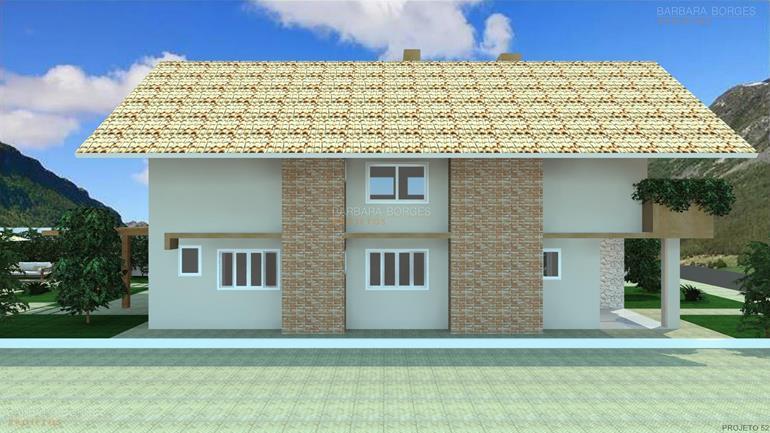 Fachadas casas barbara borges projetos for Casas modernas 120m2