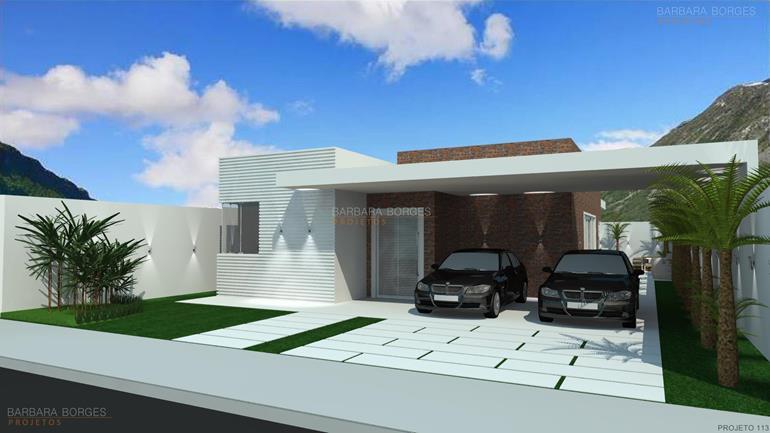 pequenos ambientes fachadas casas