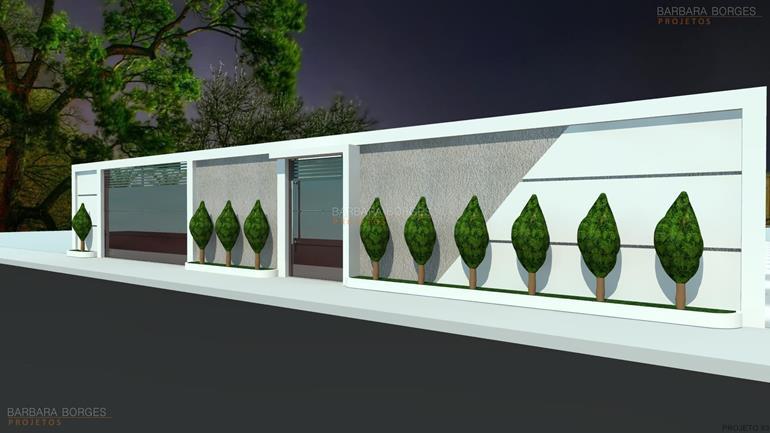 fachadas casas terreas