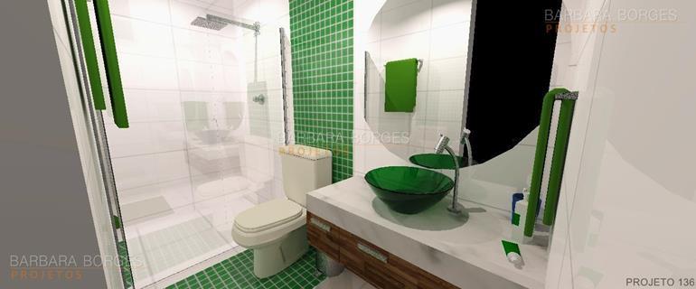 projeto quarto casal fotos banheiro