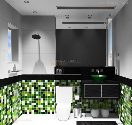 projetos comerciais fotos banheiros