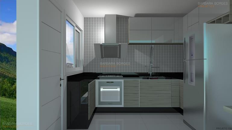 projetos comerciais fotos cozinha planejada