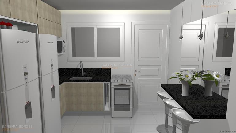 projetos comerciais fotos cozinhas modernas