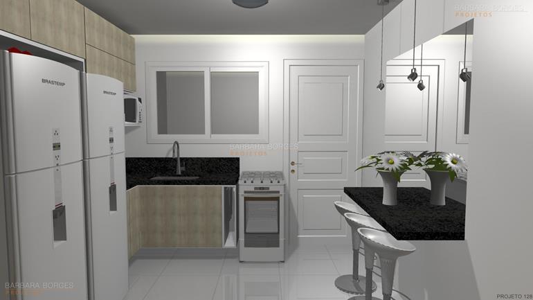 projetos de cozinhas americanas fotos cozinhas planejadas