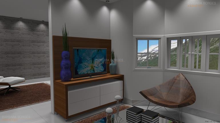 quartos casal decorados fotos sala estar
