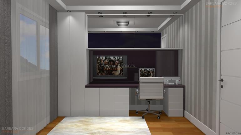 reforma de banheiros home office decoração