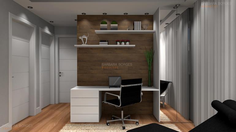 reformar banheiro home office decoração