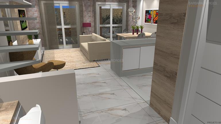 reformar banheiro ideias decoração sala