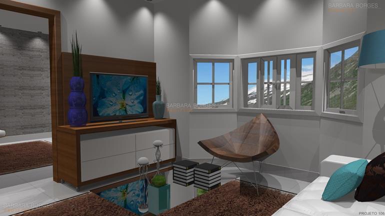 sala de estar com sala de jantar ideias decoração sala