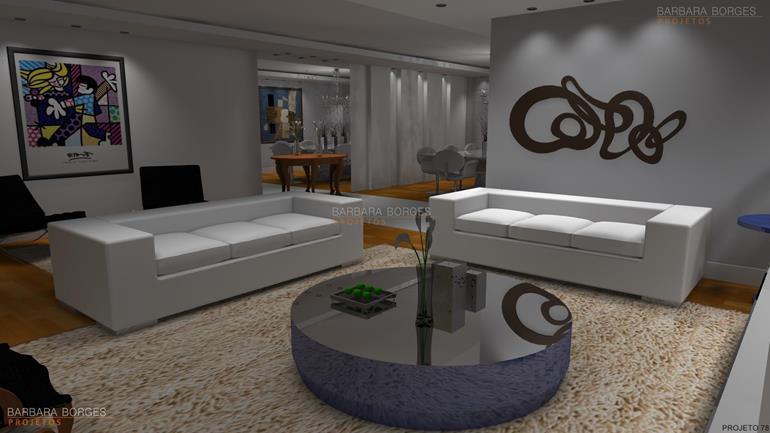 sala de jantar apartamento pequeno ideias decoração sala