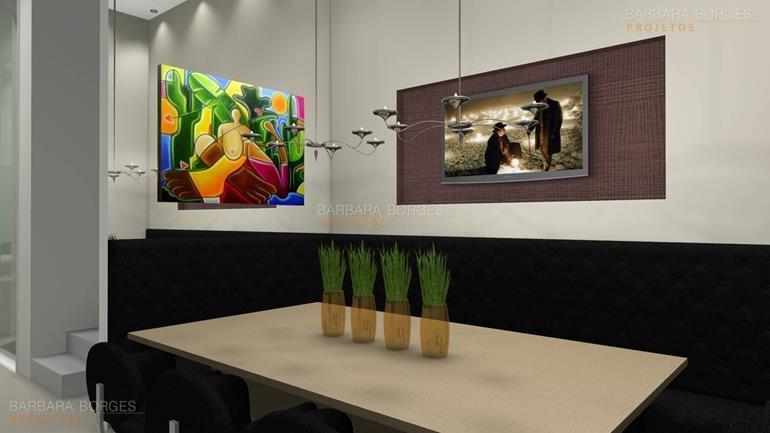 salas de jantar e estar ideias decoração sala