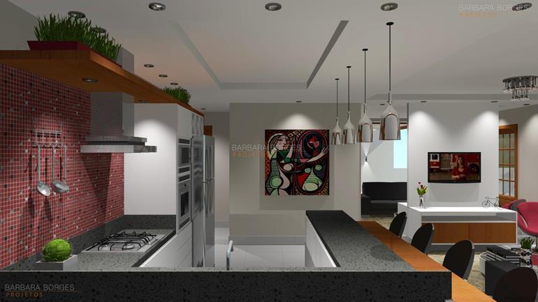 site de decoração de interiores imagens cozinha americana