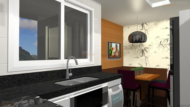 sacada decorada imagens cozinhas