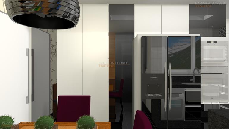 sala de estar com sala de jantar imagens cozinhas planejadas