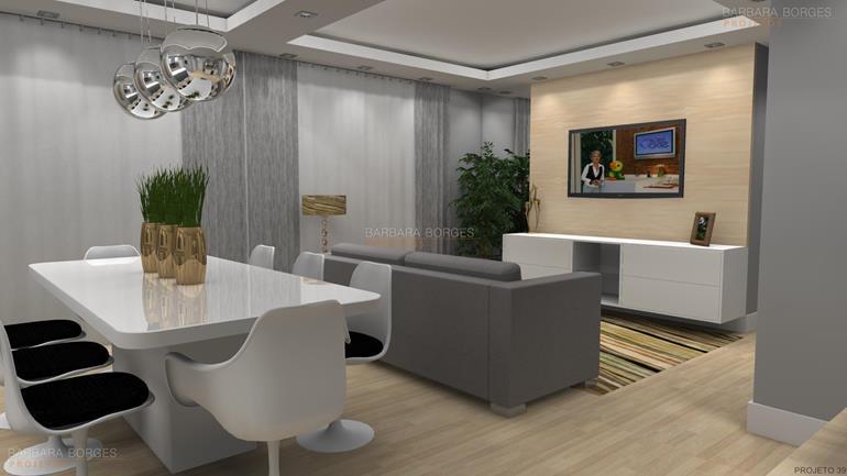Interiores casas barbara borges projetos for Interiores de salas