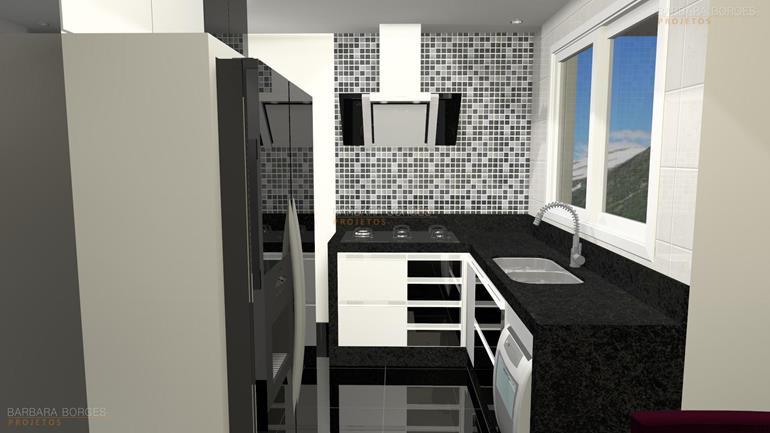 sala de visita decorada itatiaia cozinha