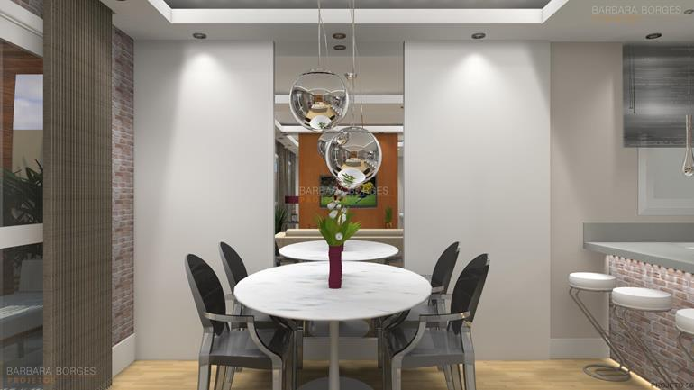sala de jantar planejada itatiaia moveis