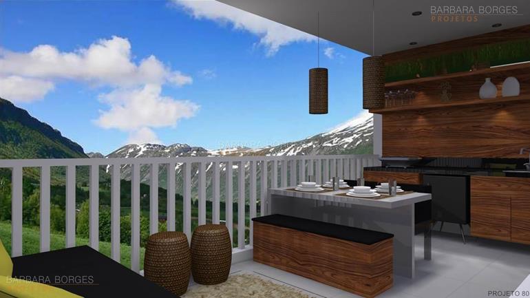 armários cozinha mesa churrasqueira