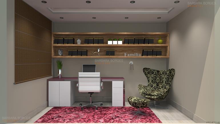 armarios de quarto planejados mesa estudo