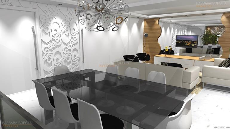 armarios planejados de cozinha mesa jantar