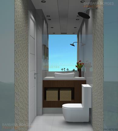 modelo banheiro pequeno