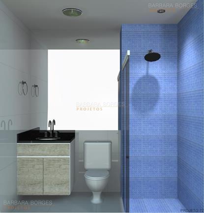 banheiros modernos decorados modelo banheiros