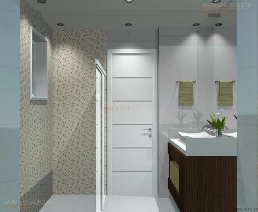 modelo banheiros
