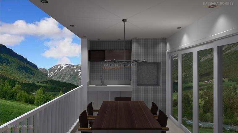 blog de decoração de casa modelo churrasqueira