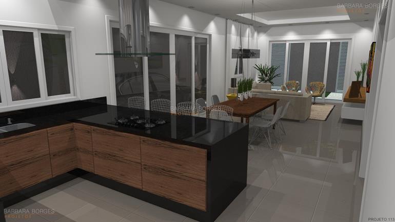 Produção Artesanal Ou Artesanato ~ Modelo Cozinha Planejada Barbara Borges Projetos