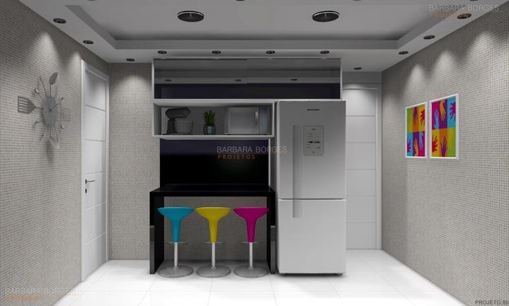 cores para ambientes internos modelo cozinha planejada