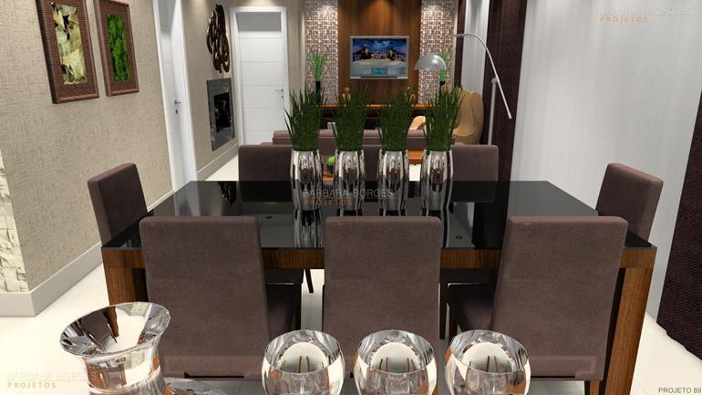 modelo sala jantar